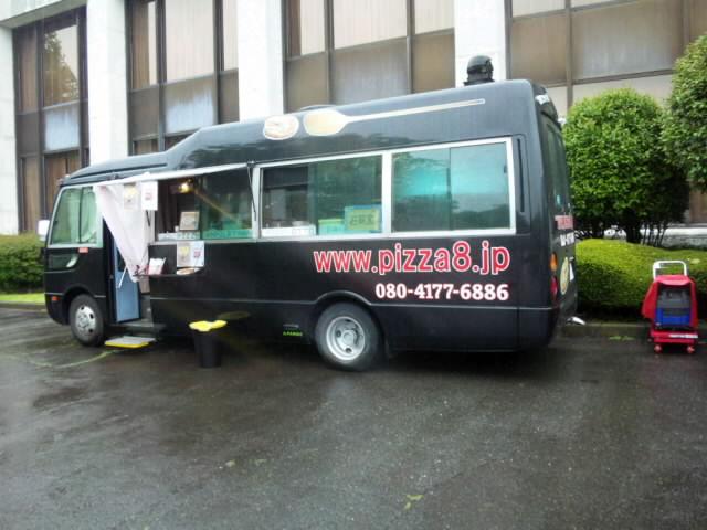 PIZZAも美味しかったし