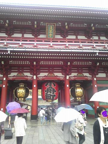 浅草寺です☆