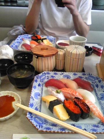 さっぱりとお寿司です♪