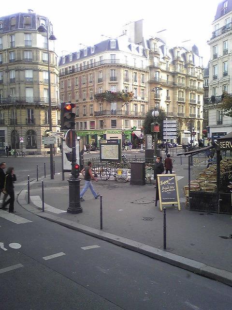 パリの街並みです