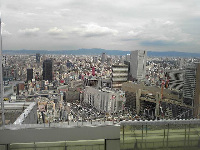 大阪の街を一望です♪