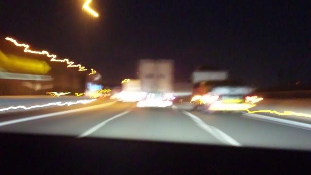 高速で目指せ大阪!