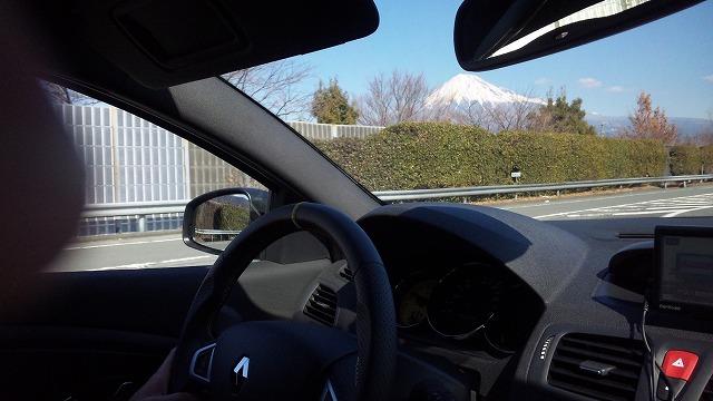 また富士山を見て