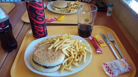 このハンバーガー好き!!