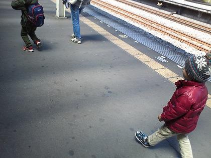 諸事情で電車です・・・