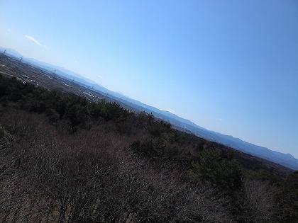 富士山も見えてます