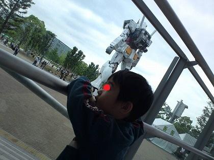 子供とガンダム見に行った