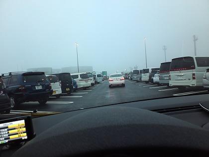 道はガラガラなのにSAは混雑