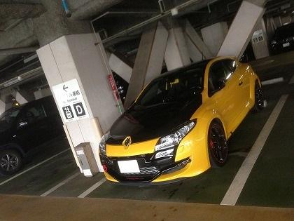 羽田の駐車場