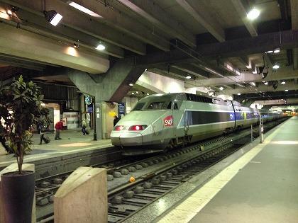TGVだ!