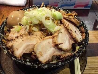 平大周 爆盛油脂麺