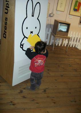 Miffyの着せ替えボード