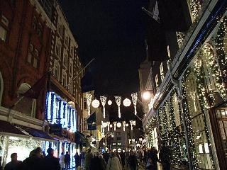 クリスマスライトが綺麗!