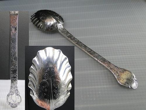 純銀スプーン 1688年
