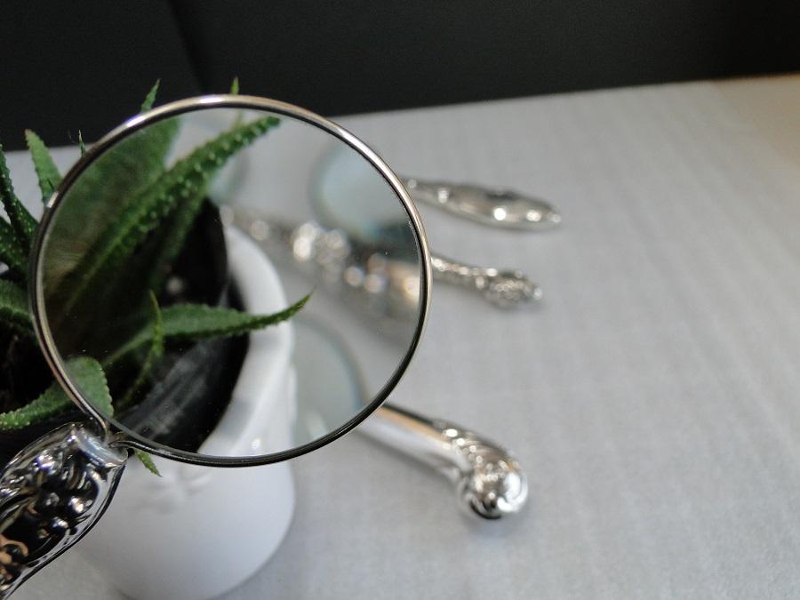 純銀 虫眼鏡