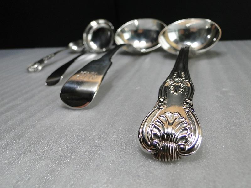 純銀製 ソースレードル