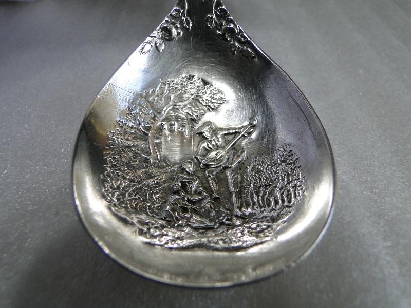 純銀製 キャディスプーン