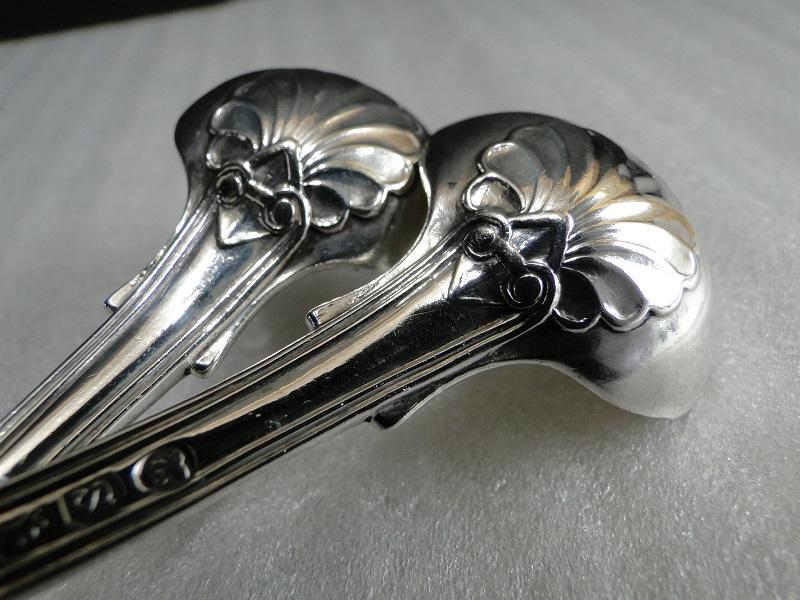 純銀 ソルトスプーン キングスパターン