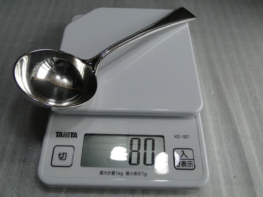 純銀レードル 80g
