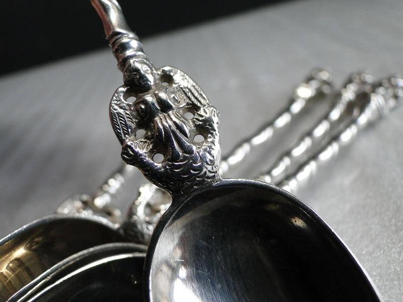 純銀製 Apostle スプーン