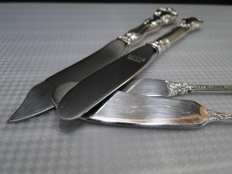 バターナイフ アメリカン スターリングシルバー