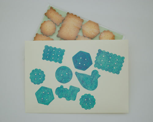 迅太さん 封筒クッキー