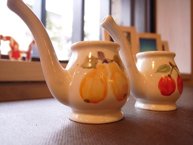ツイカの陶器カップ。かわいいんですよー