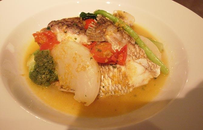 お魚のお料理