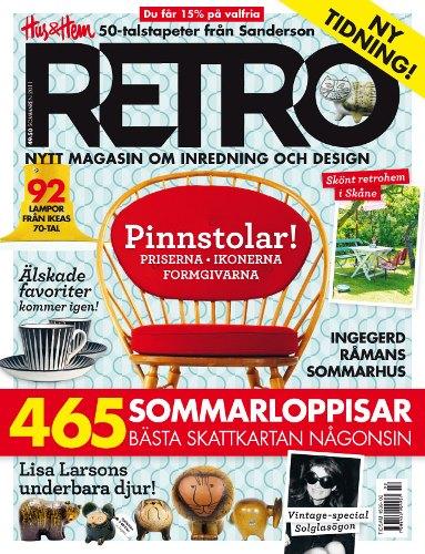 """スウェーデンの雑誌""""RETRO"""