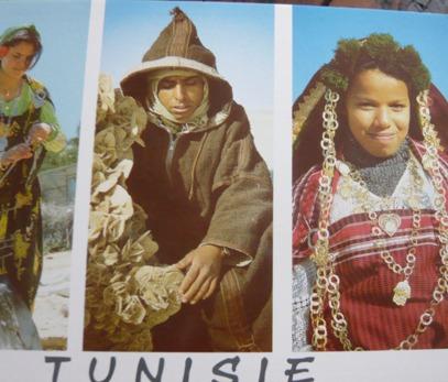 チュニジア民族衣装(写真)