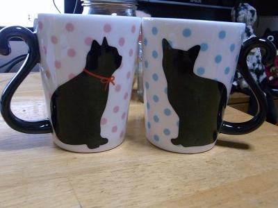 黒猫マグカップ05