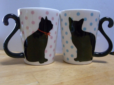 黒猫マグカップ06