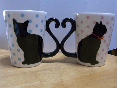 黒猫マグカップ07