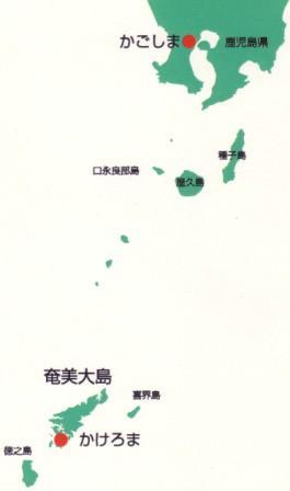 奄美大島の場所