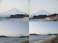 七里ガ浜の富士