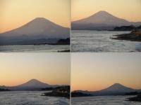 稲村ケ崎の富士
