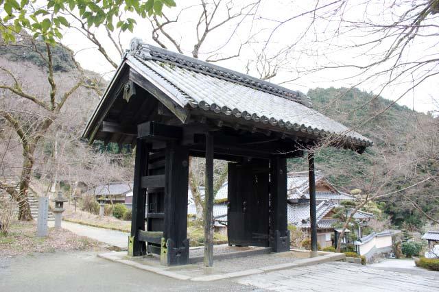 秋月城の搦め手門-1.jpg
