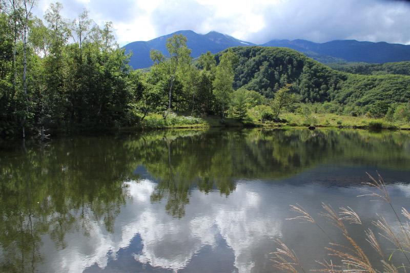 まいめ池と乗鞍岳-1.jpg