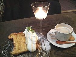 gentenケーキ&カフェオレ