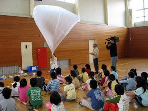 熱気球を作って飛ばそう