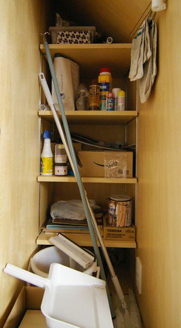 掃除用具や塗料など食品と一緒にしたくないもの