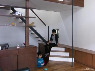 階段ステージ