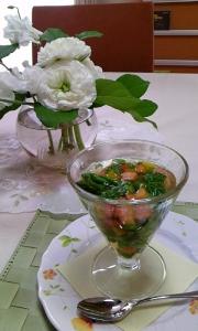 野菜のジュレスープ