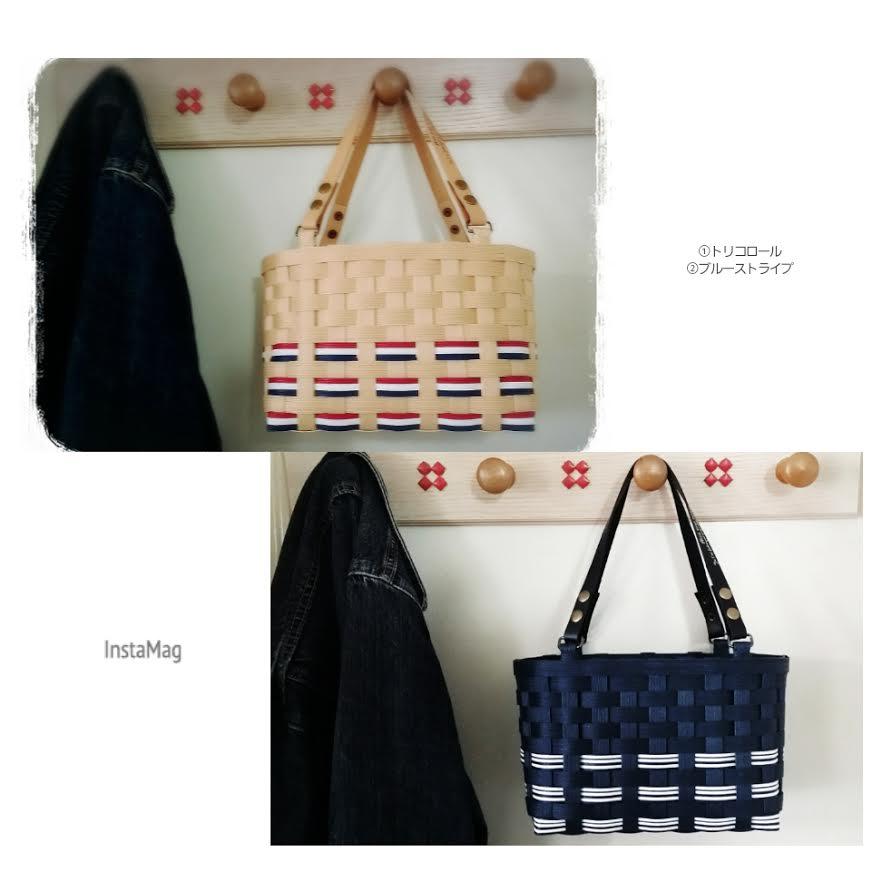輪編みのバッグ1