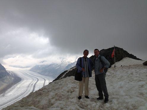 アルプス山頂