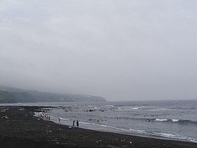 弘法浜はこんな感じでした