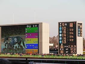確定。今年の有馬記念勝ち馬はハーツクライ。