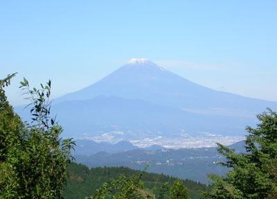天城から富士