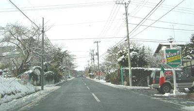 雪の坂道2