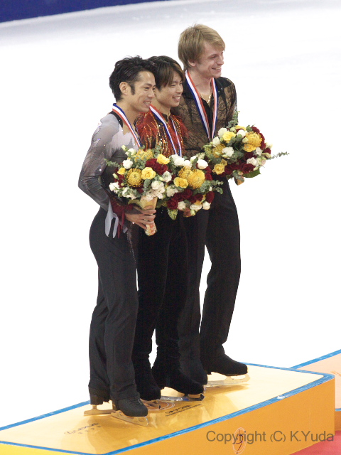2012 Cup Of China Men Medallists